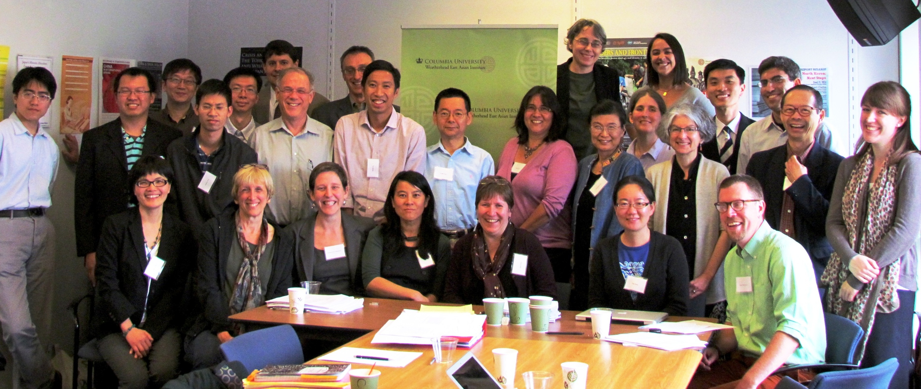 Group photo of participants of the Int'l Workshop on Chinese legal history, culture, and modernity
